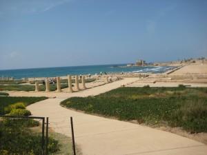 Restanten van Herodes' paleis te Caesarea